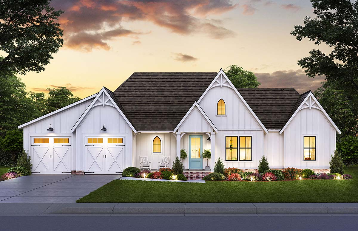 Modern Cottage Home Plan