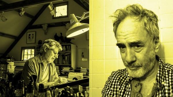 Cartoonists Joe Ciardiello and John Cuneo