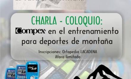 Charla coloquio – Compex para deportistas