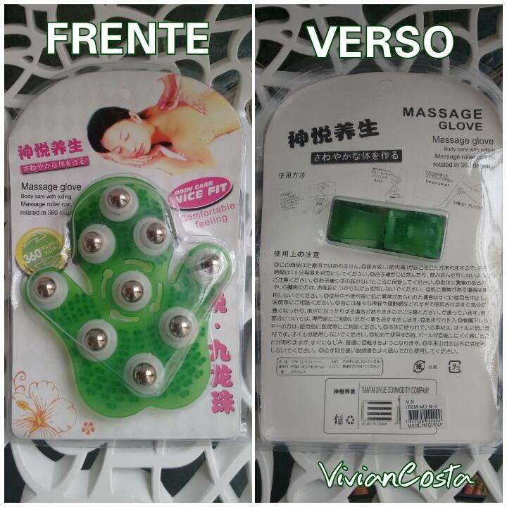 Massage glove 360 viviancosta