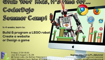 CoderDojo Summer Course 2014