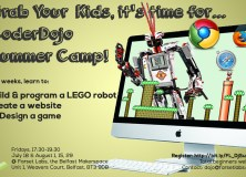 Get Kids Coding, Designing and Building This Summer 2014 with Our Special Four-Week CoderDojo Course