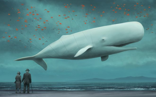 Twitter FailWhale Artistic Painting