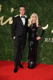 Rupert Everett & Donatella Versace