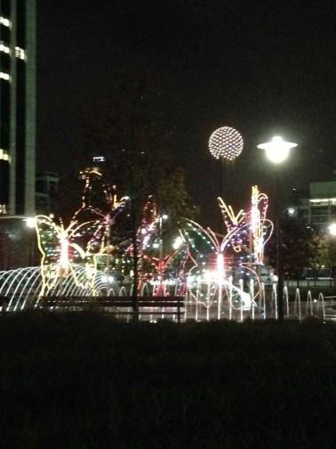 butterfly light display Dallas 12-4-2013-08