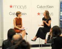 CALVIN KLEIN UNDERWEAR Hosts Every Mother Counts Christy Turlington Burns in Conversation with Glamours Cindi Leive