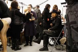 Y-3 : Backstage - Paris Fashion Week - Menswear F/W 2014-2015