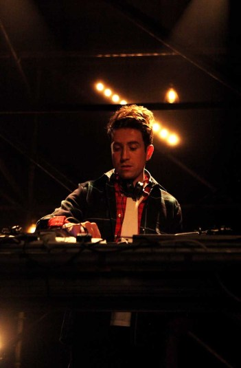 LONDON, ENGLAND - JANUARY 07: Nick Grimshaw DJ's at the Superdry AW14 after party as part of London Collections: Men at The Old Sorting Office on January 7, 2014 in London, England. (Photo by David M. Benett/Getty Images for Superdry) *** Local Caption *** Nick Grimshaw