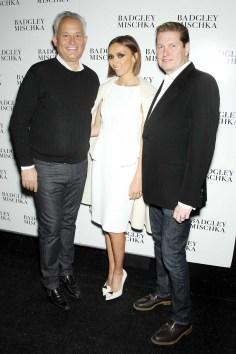 Mark Badgley and James Mischka and Giuliana Rancic