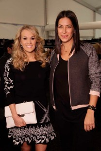 Carrie Underwood and Rebecca Minkoff