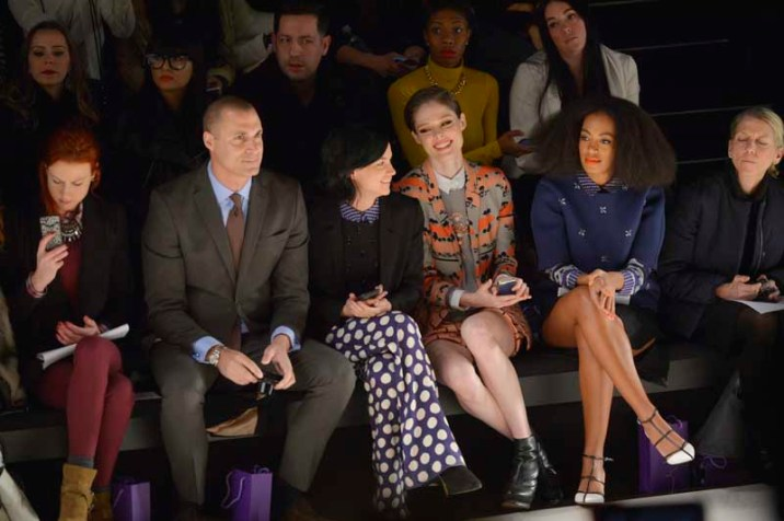 Solange Knowles, Coco Rocha, Leigh Lezark (The Misshapes), Nigel Barker