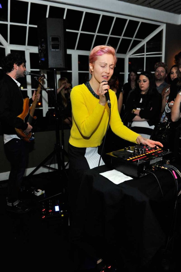 Sandro Paris Celebration At Chateau Marmont With Special Performance By Polica