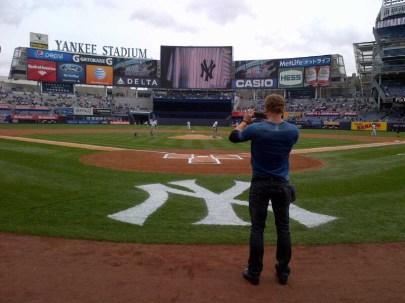 Buffalo David Bitton at Yankee Stadium (14)