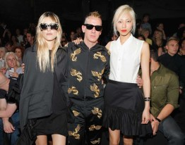 Y-3 Spring/Summer 2014 Mercedes-Benz Fashion Week - Front Row