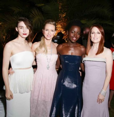Naomi Watts, Lupita Nyong'o, Julianne Moore and Rooney Mara