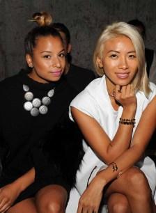 Jasmine Solano (L) and May Kwok