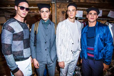 PerryEllis_SS15_Backstage_Model3