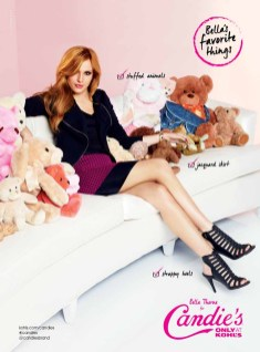 Bella Thorne for Candies Fall 2014 (3)
