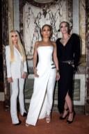 Donatella Versace; Jennifer Lopez; Maria Carla Boscono