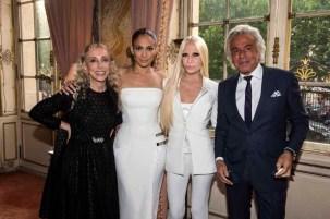 Franca Sozzani Jennifer Lopez Donatella Versace Giancarlo Giammetti