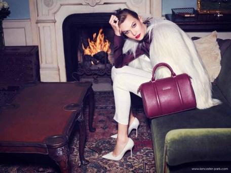Karlie Kloss for Lancaster Paris Holiday 2014 (1)