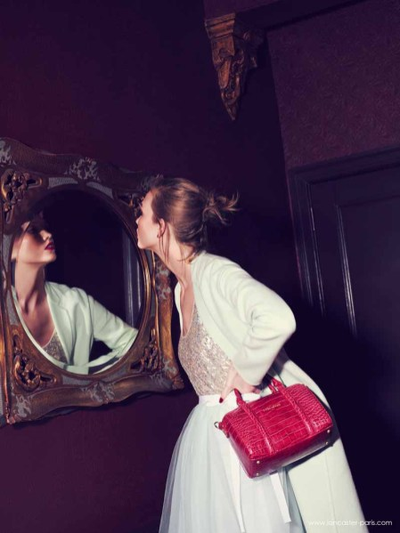 Karlie Kloss for Lancaster Paris Holiday 2014 (3)
