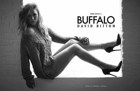 Ronda Rousey for Buffalo David Bitton (4)