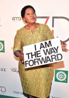 First Lady of the Republic of South Africa Bongi Ngema Zuma