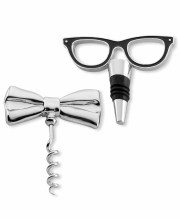 Kate Space New York Two of a Kind Bottle Stopper & Corkscrew Set $50