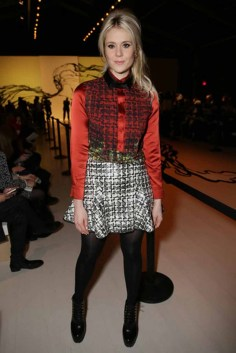 Kate Nash 1 in LIE SANGBONG Top and LIE Skirt