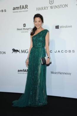 Michelle Yeoh in Elie Saab