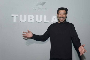 PARIS, FRANCE - JUNE 25: KB Lee attends the Adidas Originals Tubular Paris Fashion Week Performance on June 25, 2015 in Paris, France. (Photo by Dominique Charriau/Getty Images) *** Local Caption *** KB Lee