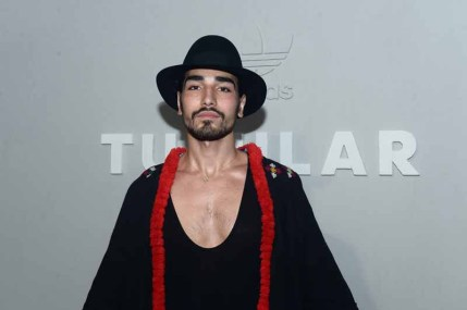 PARIS, FRANCE - JUNE 25: Willy Cartier attends the Adidas Originals Tubular Paris Fashion Week Performance on June 25, 2015 in Paris, France. (Photo by Dominique Charriau/Getty Images)