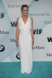 Maria Bello in Max Mara