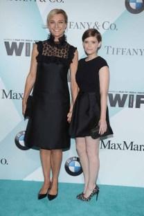 Nicola Maramotti in Max Mara;Kate Mara in Max Mara