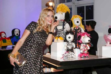 BERLIN, GERMANY - JULY 08: Tanja Buelter attends the Snoopy & Belle Vernissage at Mercedes-Benz Fashion Week Berlin Spring/Summer 2016 at Ermelerhaus on July 08, 2015 in Berlin, Germany. (Photo by Franziska Krug/Getty Images for SBIFBERLIN)