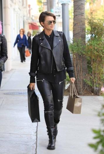 Celebrity Sightings In Los Angeles - November 04, 2015