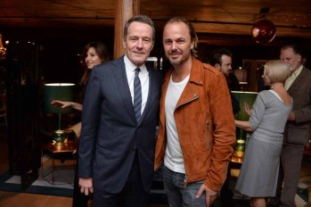Bryan Cranston, Jonas Tahlin== A Celebration for Bryan Cranston== December 9, 2015== House of Elyx, NYC== ©Patrick McMullan== Photo - Clint Spaulding / PMC== ==