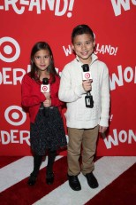 NEW YORK, NY - DECEMBER 07: Evan & Jillian from EvanTubeHD interview guests on the red carpet at Target Wonderland VIP event on December 7, 2015 at Target Wonderland, 70 10th Avenue in New York City. (Photo by Cindy Ord/Getty Images for Target) *** Local Caption *** Evan;Jillian