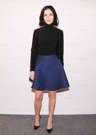 Leigh Lezark wears a Noon By Noor Pre-Fall 2016 Skirt01