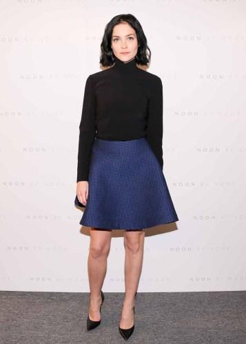 Leigh Lezark wears a Noon By Noor Pre-Fall 2016 Skirt01