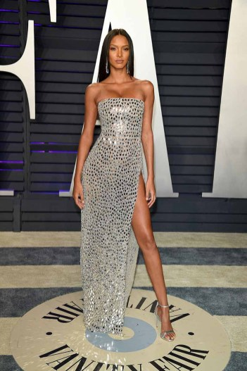 BEVERLY HILLS, CALIFORNIA - FEBRUARY 24: Lais Ribeiro attends 2019 Vanity Fair Oscar Party Hosted By Radhika Jones - Arrivals at Wallis Annenberg Center for the Performing Arts on February 24, 2019 in Beverly Hills, California. (Photo by Daniele Venturelli/WireImage)