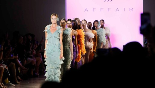 Afffair Spring 2020 Front Row