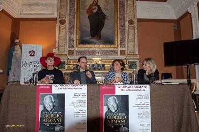 Presentazione libro Giorgio Armani. Il re della moda italiana