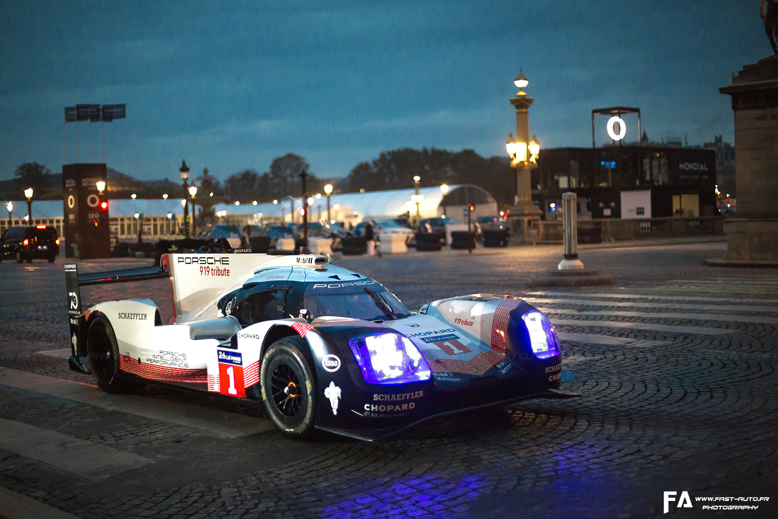 Porsche 919 Tribute Tour (Paris)
