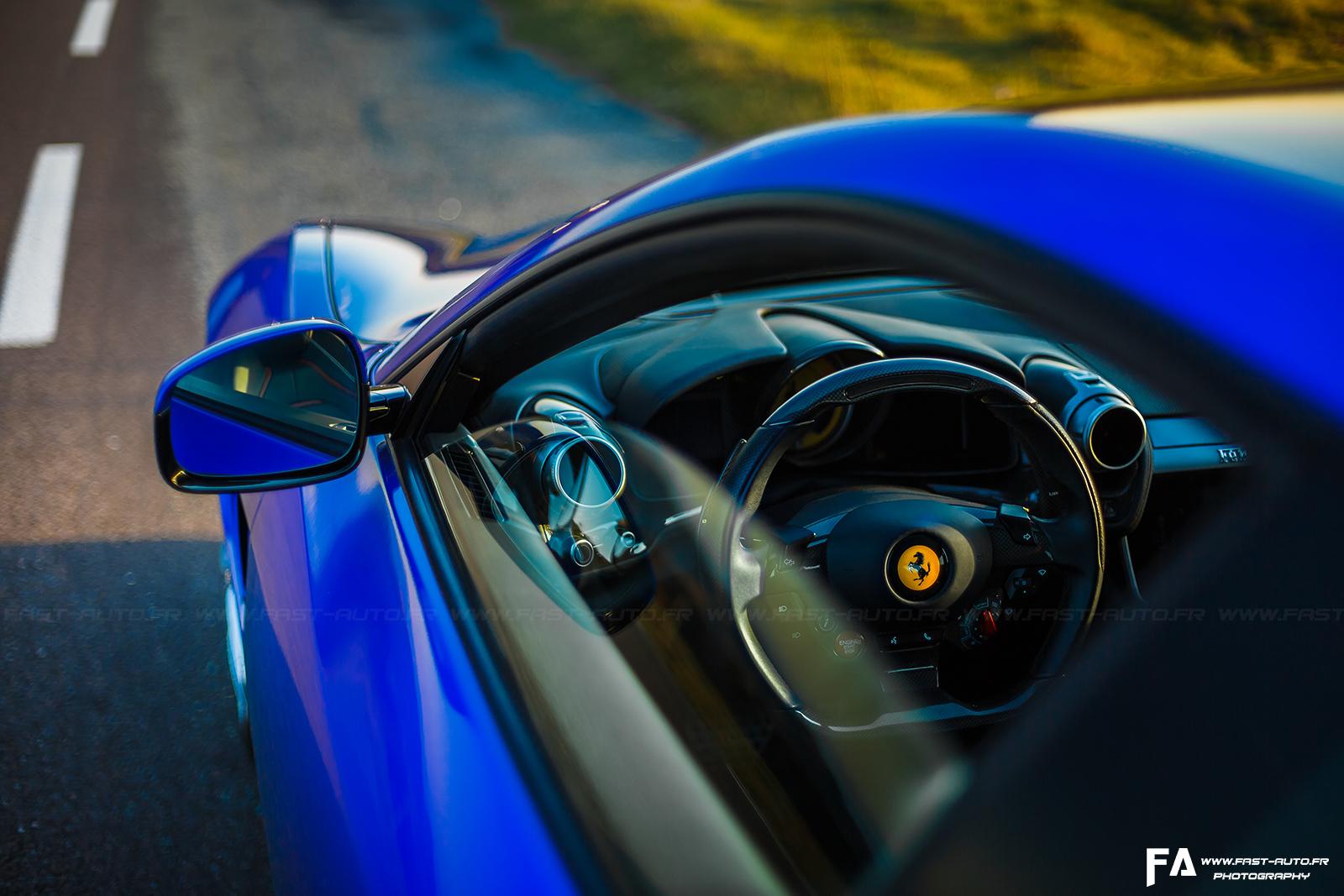 Essai Ferrari GTC4 Lusso T