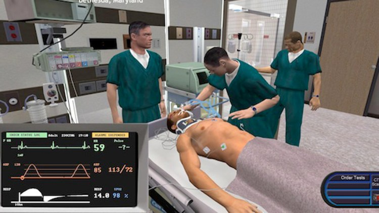 Exemple de serious game medical