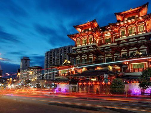 Le quartier gay de Singapour