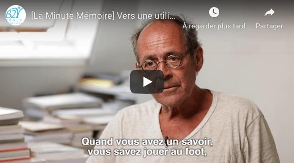 Bernard Stiegler sur les prothèses cognitives