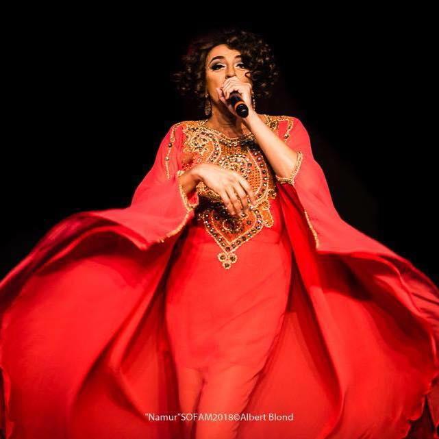 La Diva du Karbaret de Christophe Soret - Crédit Photo Albert Blond